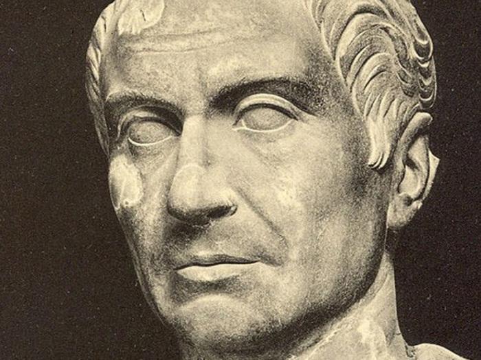 Скульптурный портрет Клодия, главного врага Цицерона
